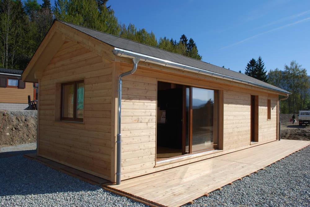 Neu swissmodule bungalow swissmodule for Wohncontainer aus holz